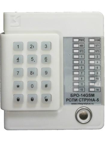БРО-14-GSM Объектовый радиоканальный блок