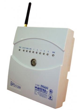 БРО-5-GSM Объектовый радиоканальный блок