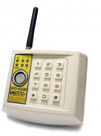 БРО-4-GSM Объектовый радиоканальный блок
