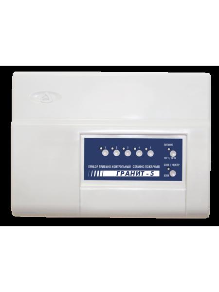 Гранит 5 с IP регистратором событий Прибор приемно-контрольный и управления охранно-пожарный